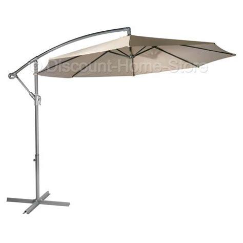 garden sun shades parasols 3m cantilever large parasol umbrella garden sun shade foldaway ebay