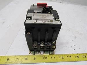 Square D 8536sbo2h20s Size 0 200  230v 3hp 50  60hz Starter