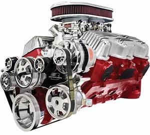 Billet Specialties Tru Trac Bbc 348  409 Engine Kit Water