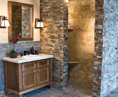 rustic bathroom tile the copper rust slate collection rustic bathroom Rustic Bathroom Tile
