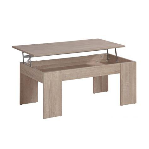 table basse avec plateau relevable pas cher table basse plateau relevable coloris ch 234 ne beaux meubles pas chers