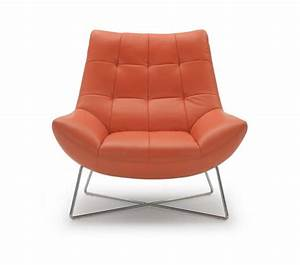 DreamFurniture com - Divani Casa A728 - Modern Orange