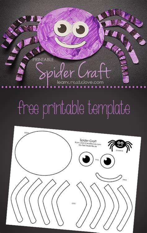 printable spider craft 489 | spider