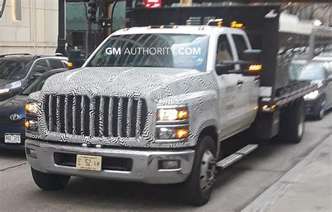 silverado   medium duty trucks spied