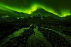nature, Photography, Landscape, Aurora Boreal, Mountains ...