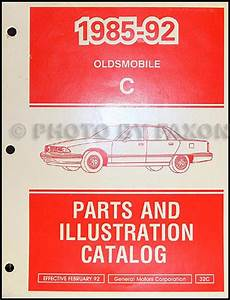 1991 Olds Repair Shop Manual Supplement Original