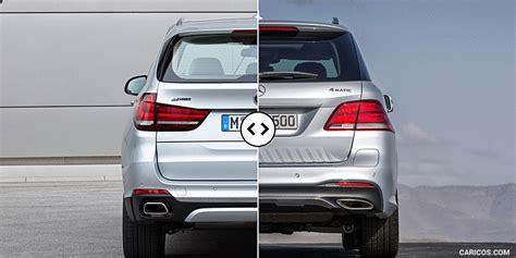 bmw   mercedes gle rear comparison