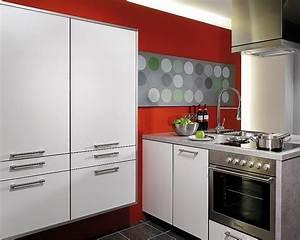 Küchen Hochschrank Weiß : k chenblock und hochschrank in wei ~ Buech-reservation.com Haus und Dekorationen
