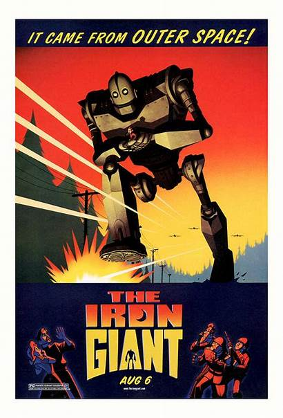 Iron Giant 1999 American Presented Classic Sci