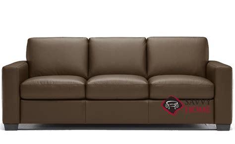 quick ship rubicon  leather sleeper sofas queen