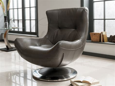 Armchair Chair by Leather Swivel Armchair