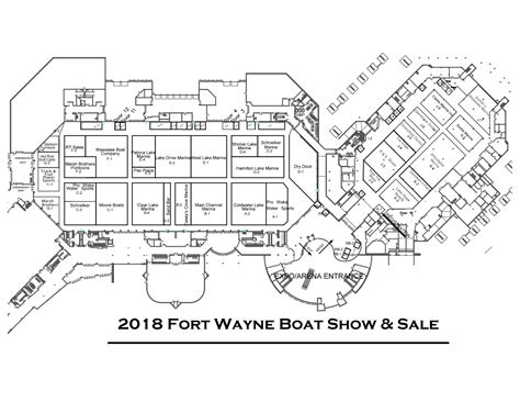 Fort Wayne Boat Show by Boat Show Layout Fort Wayne Boat Show And Sale