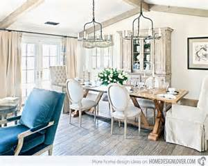 15 pretty and charming shabby chic dining rooms home - Home Interior Decoration