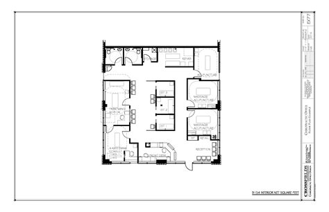 Example Floor Plan With Closed Adjusting X-ray-exam Ist