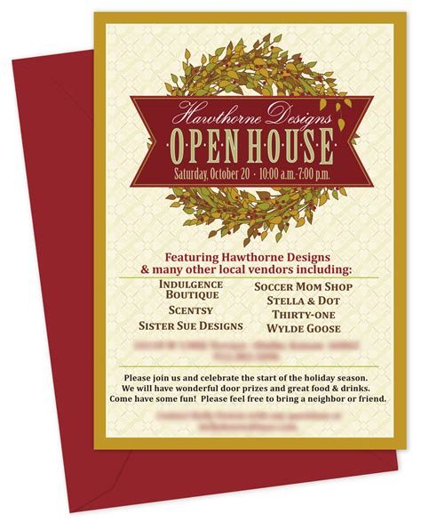 Templates For Invitations by Business Open House Invitation Templates