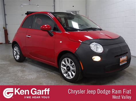Fiat Pre Owned by Certified Pre Owned 2017 Fiat 500c Pop Convertible