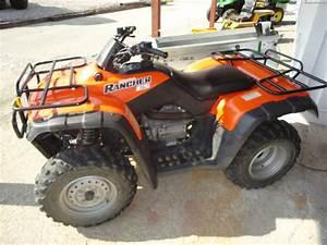 2001 Honda Rancher Es 4x4 Atv U0026 39 S And Gators