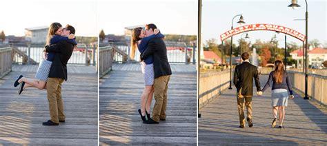 surprise engagement proposal  broadway   beach