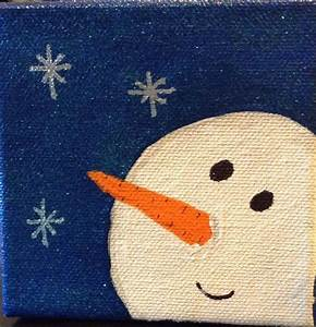 Christmas, Canvas, Kids, Christmas, Painting, Christmas