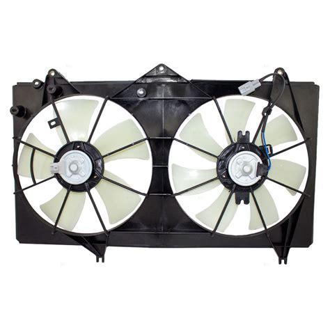 2003 toyota camry radiator fan everydayautoparts com toyota camry solara 4 cyl dual