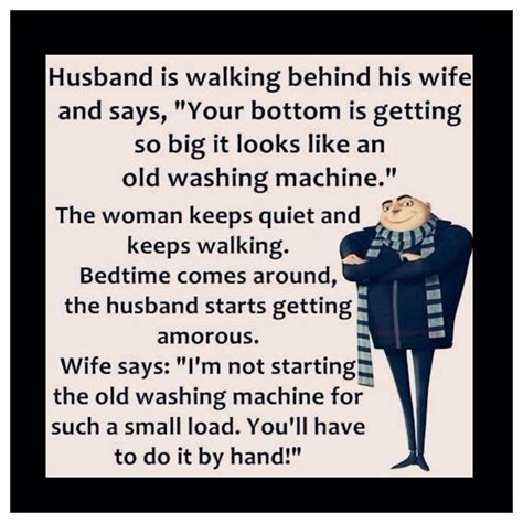 Funny Husband And Wife Memes - 4x4 fridge magnet silly meme funny minion humor husband