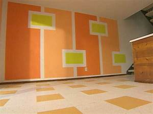 Design Of Wall Painting And This Interesting Simple Wall ...