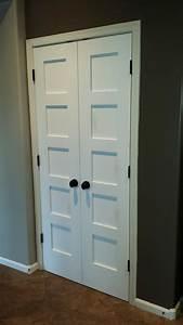 Replacement, Of, Twenty, Interior, Doors, With, New, Shaker, Style, Doors