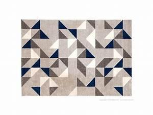 Tapis Bleu Et Gris : tapis scandinave motif losange gris et bleu 160x230cm boreal vente de tapis enfant conforama ~ Dode.kayakingforconservation.com Idées de Décoration