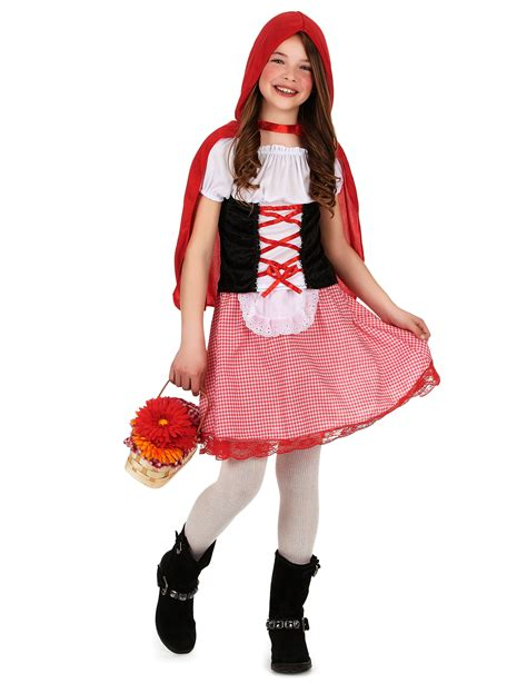 Disfraz de Caperucita Roja para niña: Disfraces niños y