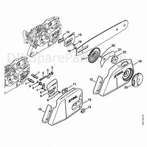 Stihl Ms 280 Chainsaw  Ms280 Iz  Parts Diagram  Chain