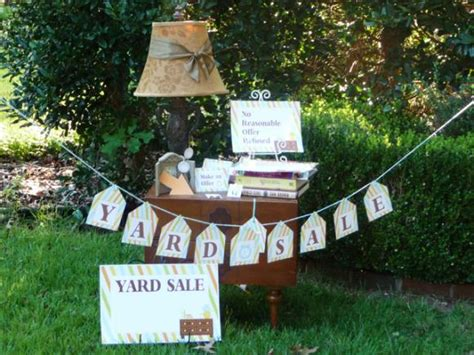 Backyard Sales by Top Tips For Throwing A Successful Yard Sale Hgtv