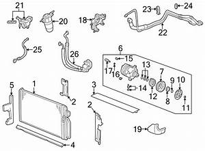 1996 Chevrolet S10 A  C Refrigerant Line Seal Kit