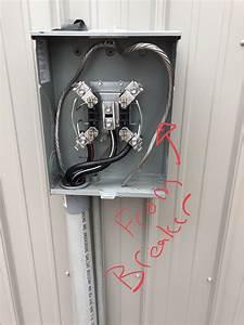 Wiring Meter To Plug On Neutral Circuit Breaker
