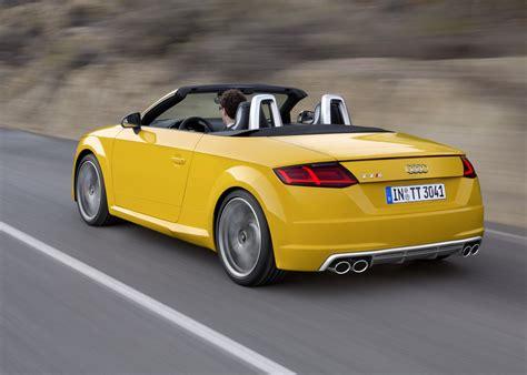 audi tt  tts roadster revealed convertible