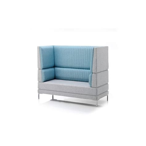 High Back Sofa by Ocee Design Henray High Back Acoustic Sofa