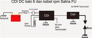 Diagram  Wiring Diagram Kelistrikan Satria Fu Full