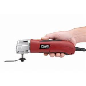 Chicago Electric Oscillating Multifunction Power Tool