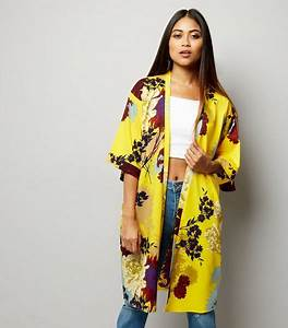 Kimono Femme Long : holiday shop womens holiday clothes accessories new look ~ Melissatoandfro.com Idées de Décoration