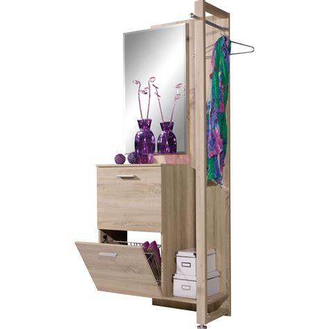 avis eco cuisine meuble à chaussures avec vestiaire vista chêne 3637 156