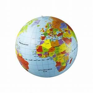 Globe Terrestre Enfant : globe gonflable monde 50 cm caly jouets activit s cr atives jeux ducatifs cultura ~ Teatrodelosmanantiales.com Idées de Décoration