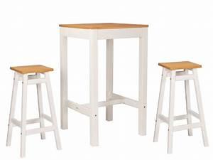 Table De Bar : 10 tables hautes et tabourets de bar prix doux joli place ~ Teatrodelosmanantiales.com Idées de Décoration