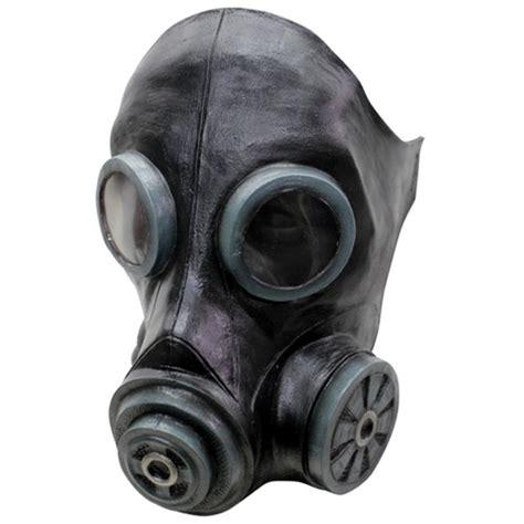 smoke black gas mask camouflageca