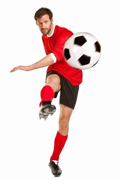 Soccer Kicking Ball Player Softball Athlete