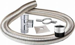 Conduit De Cheminée Extérieur Inox Prix : kit 6 m tres gaine inox 150mm r f conduits de ~ Premium-room.com Idées de Décoration