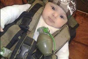 IS bride makes her baby wear a suicide bomber vest | Daily ...