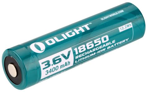 Olight 18650 Lithium-Ion 3400mAh Battery - Read Details
