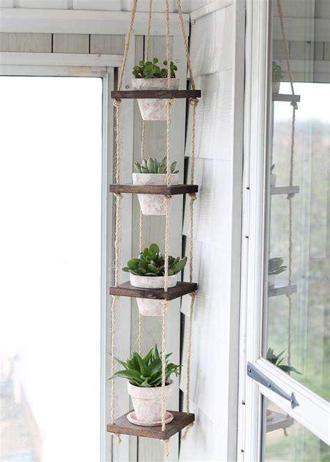 plante pour chambre porte plantes à faire soi même sellettes et suspensions