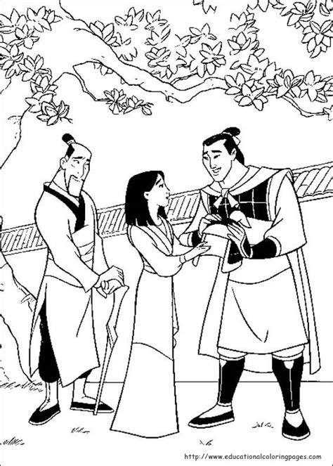 mulan coloring pages educational fun kids coloring pages  preschool skills worksheets