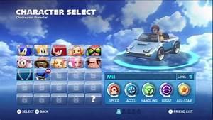 Sonic U0026 All Stars Racing Transformed Wii U Carrier Zone