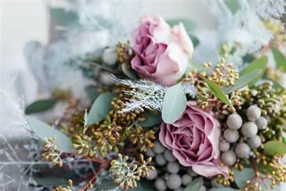Winter Bouquet Flowers Balls Brunia Stunning Silver